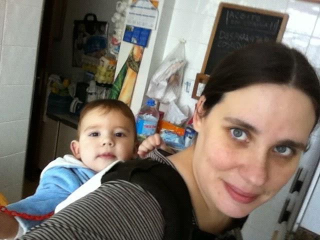 Jessica y su hijo mamaesunafriki
