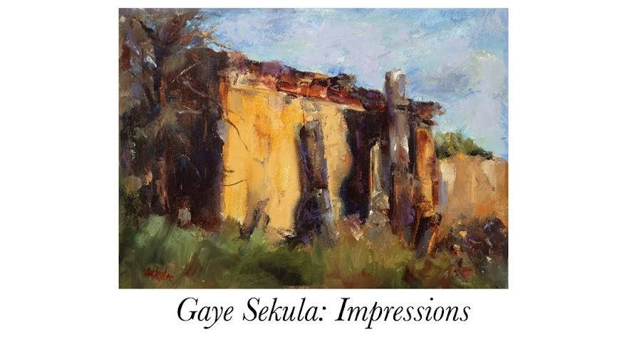 Gaye Sekula: Impressions