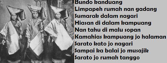 Kata Pusaka Tentang Kedudukan Ibu Di Minangkabau