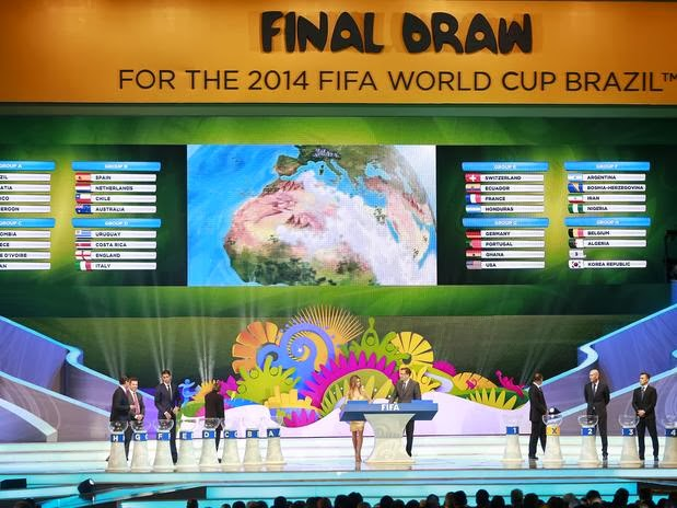 World Cup 2014 Draw results