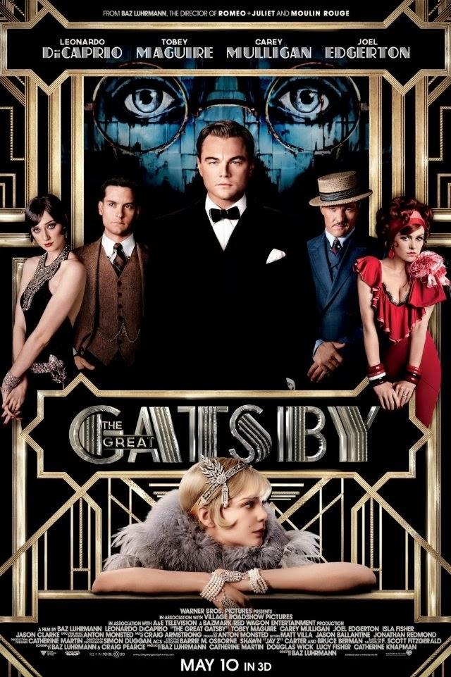 La película The Great Gatsby ( El gran Gatsby )