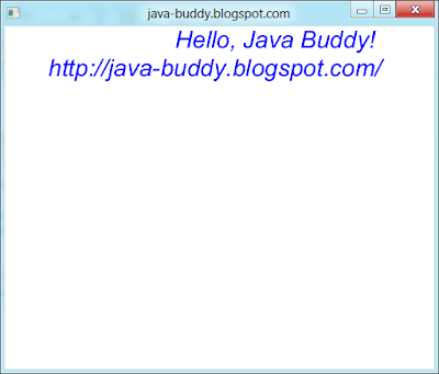 JavaFX TextBuilder with properties
