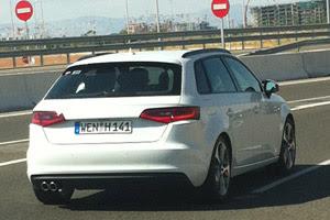 Mondial Paris 2012-Audi A3 Sportback sans camouflages