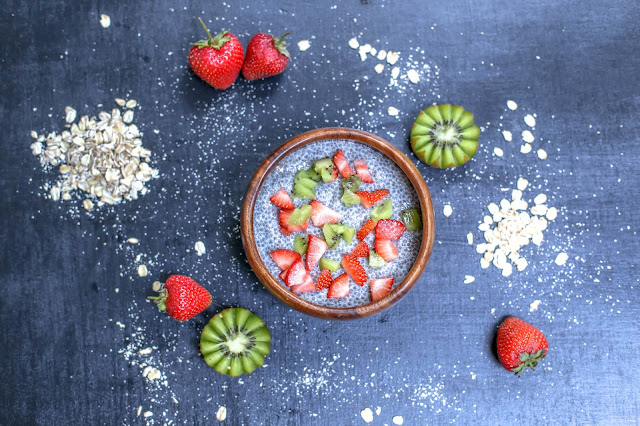 chia pudding, chia seeds, vegan, gluten free, yummy, clean eating