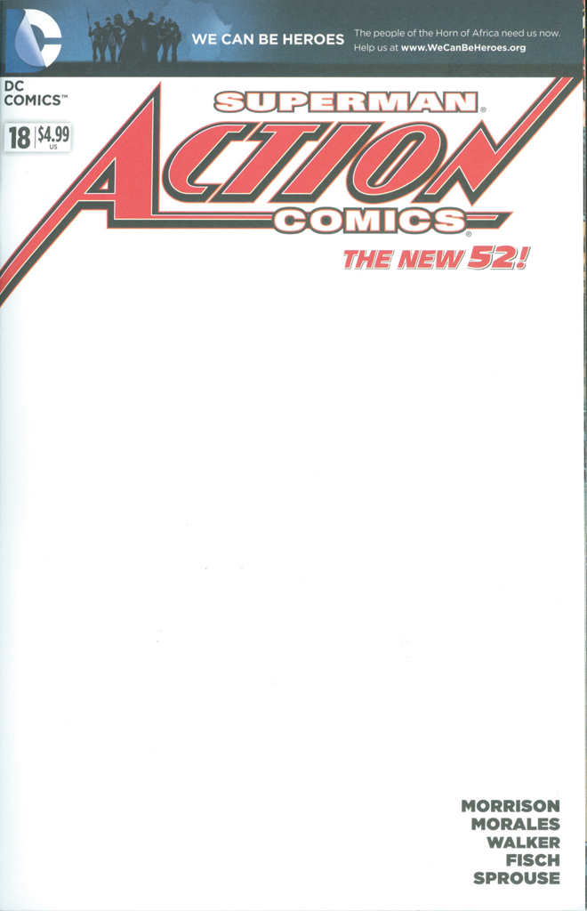 Blank Comic Book Cover Template : Rust belt monster collective tim s action comics cover
