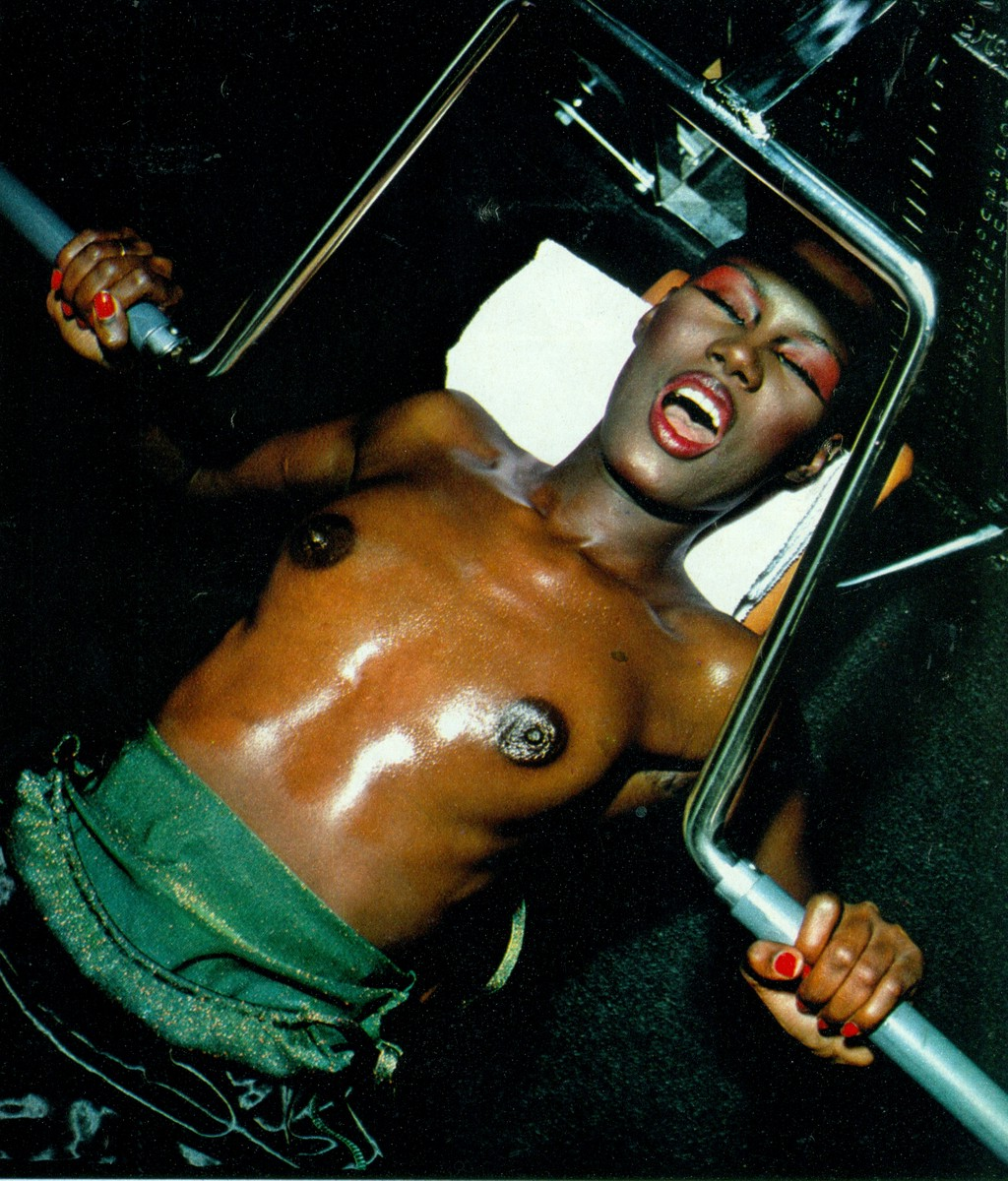 Schwarzenegger grace jones arnold