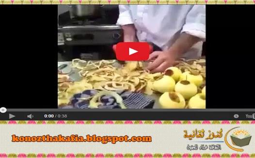 بالفيديو كيفية تقطيع البطاطس بسرعة جدا؟