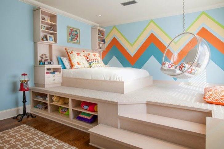 Desain Kamar Tidur Anak Terbaru Unik & Menyenangkan