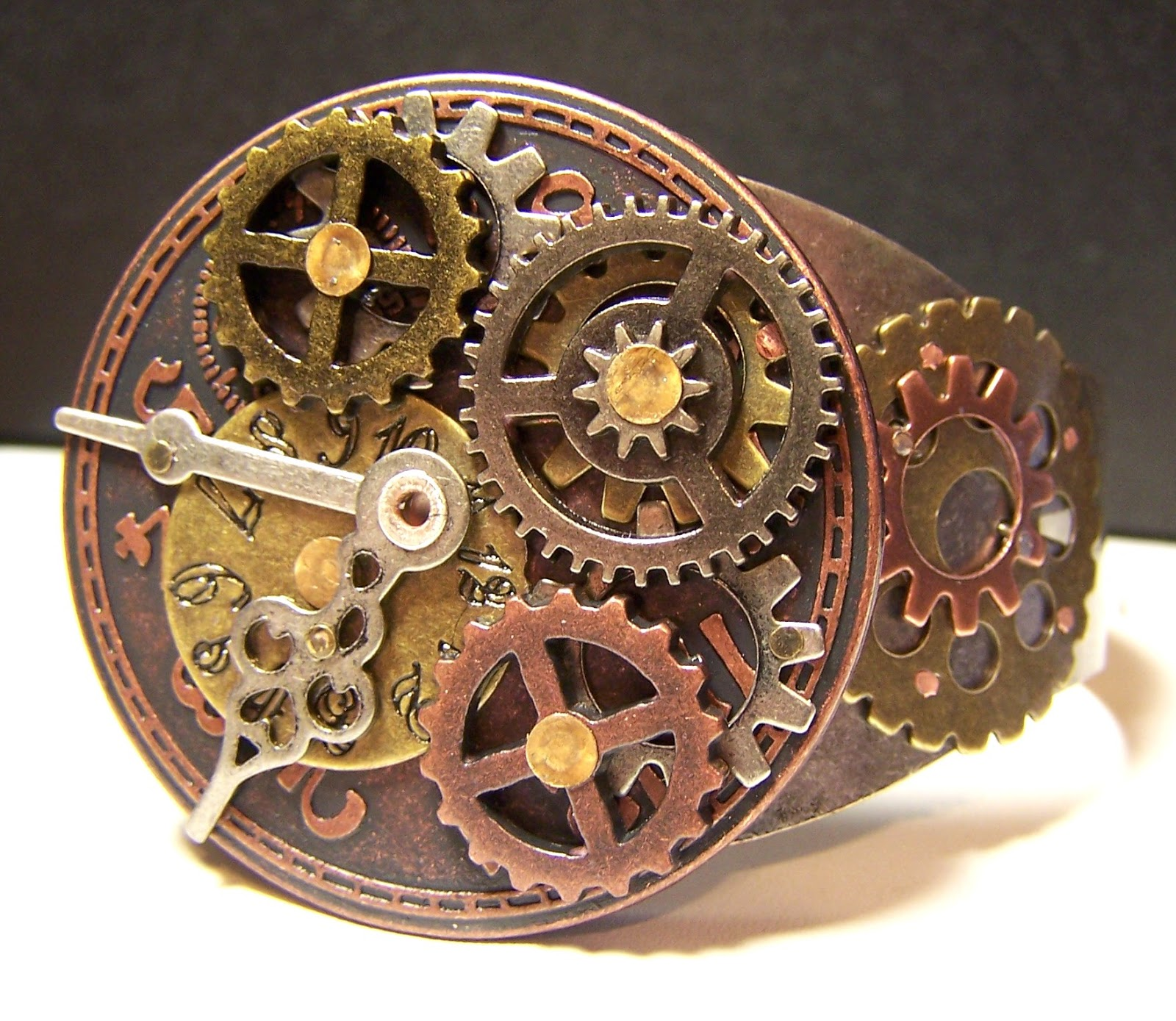 Zen Creations Jewelry Gears Clocks And Gemstones