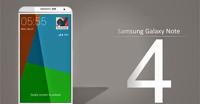 Galaxy Note 4 sẽ có cảm biến vân tay
