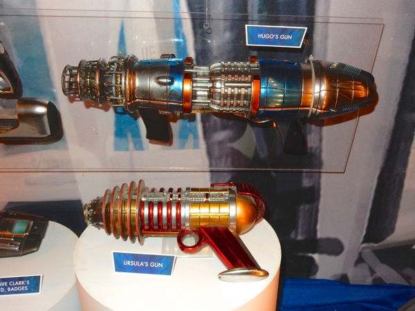 Hugo Ursula Tomorrowland raygun film props
