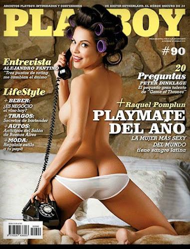 Playboy Argentina - Raquel Pomplun
