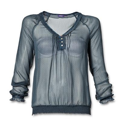 blouse transparente mode romantique mexx e-shop