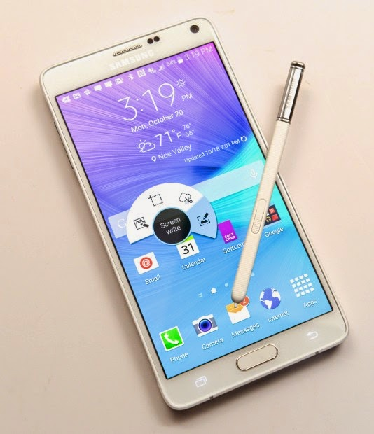 Galaxy Note 4 Specs and pictures, price