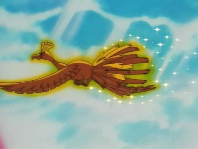 Risultati immagini per ho oh first pokemon episode