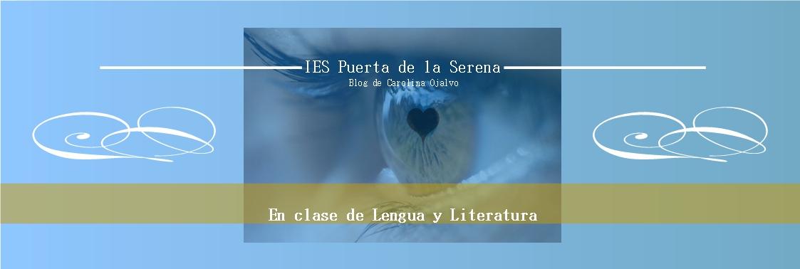 Blog de Lengua y Literatura para los alumnos del IES Puerta de la Serena