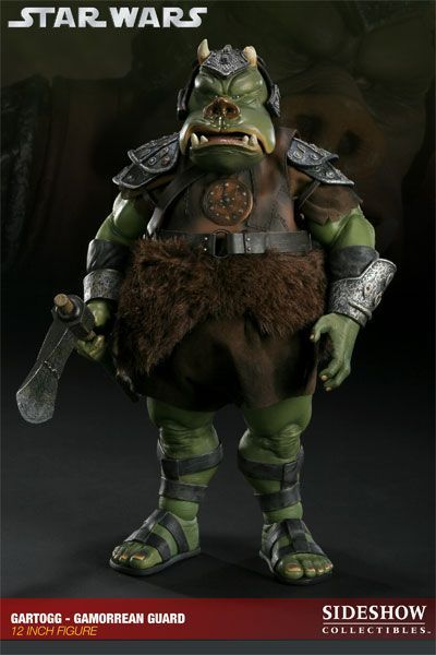 Onesixthscalepictures sideshow collectibles star wars gartogg gamorrean latest product news - Star wars gamorrean guard ...