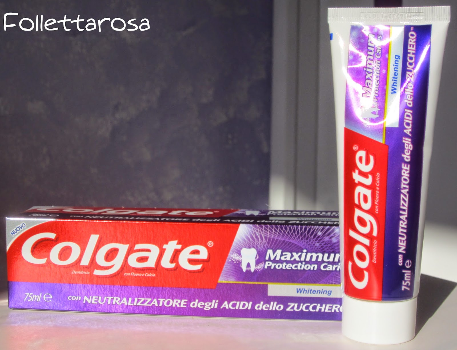 Maximum protection caries Colgate whitening
