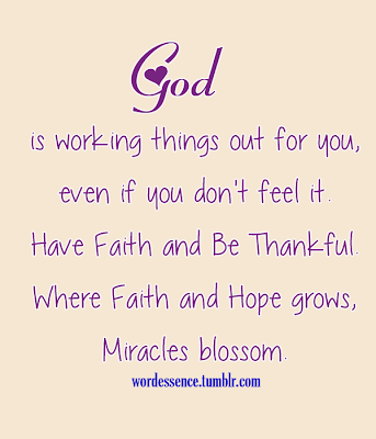 inspirational quotes about hope and faith quotesgram