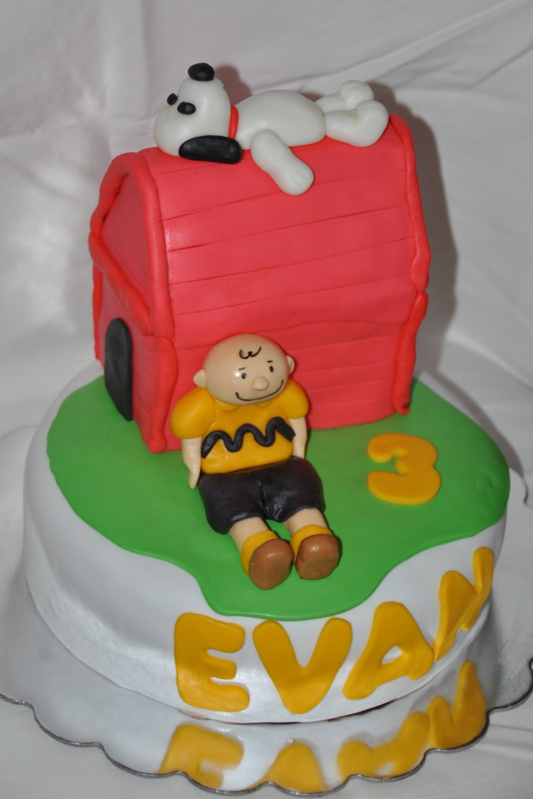 Fondant Etc Charlie Brown Snoopy