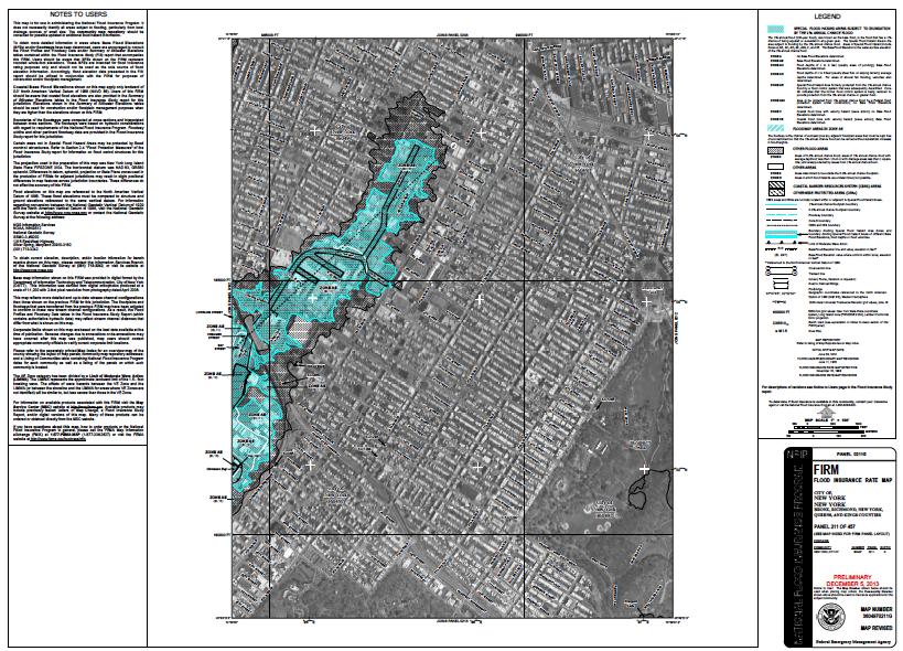 Flood Zone X New York City Firm