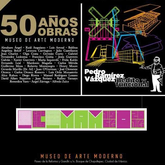 Exposiciones especiales por los 50 años del Museo de Arte Moderno