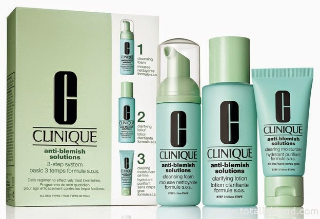 clinique 3 step how to use
