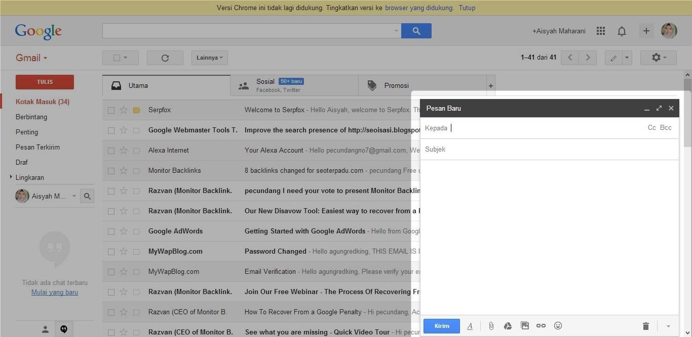 Cara Mengirim Email 2