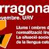 Tarragona: 5 de novembre, 18 h Inauguració de les Jornades