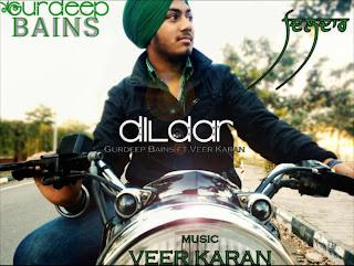 Dildar - Gurdeep Bains feat Veer Karan [New Punjabi Rap] 2013 desi hiphop rap music free download mp3