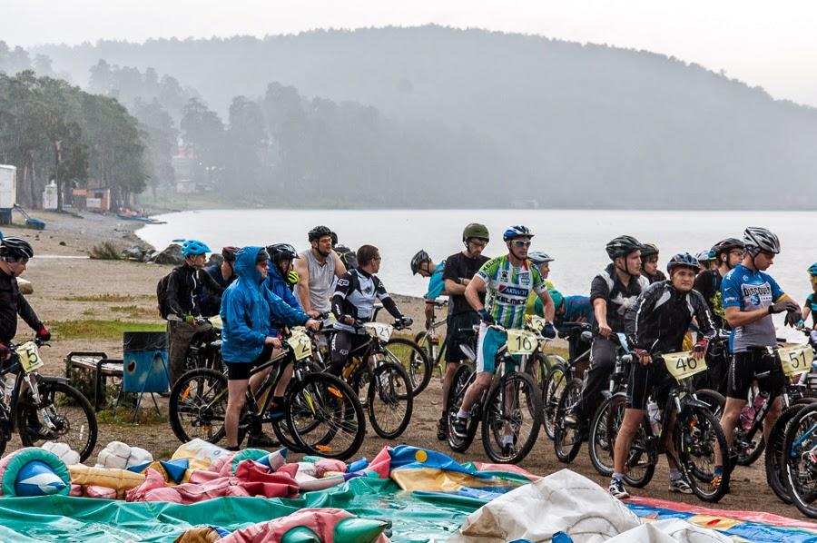 Велопробег чистой воды. Старт