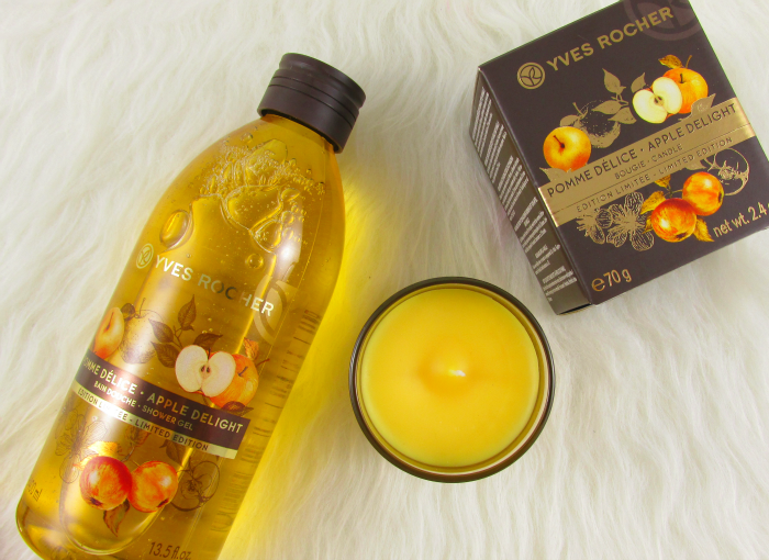 Review: Yves Rocher Limited Edition - Apple Delight Duschbad - 4.99 Euro  & Duftkerze - 6.99 Euro