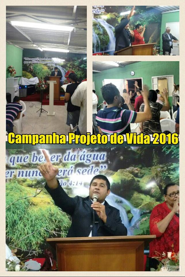 Igreja Fonte de Água Viva 07/Jan16.