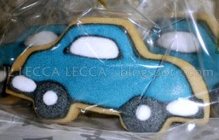 car fancy cookies
