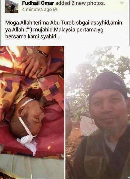 VIDEO RAKYAT MALAYSIA MATI DITEMBAK DI SYIRIA