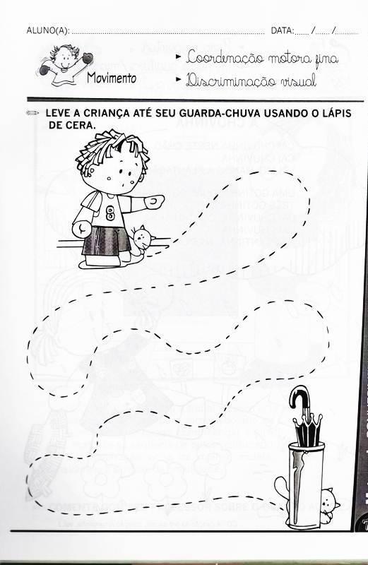 Atividades Para Educac3a7c3a3o Infantil Maternal 3 A 4 Anos Vol 4 72
