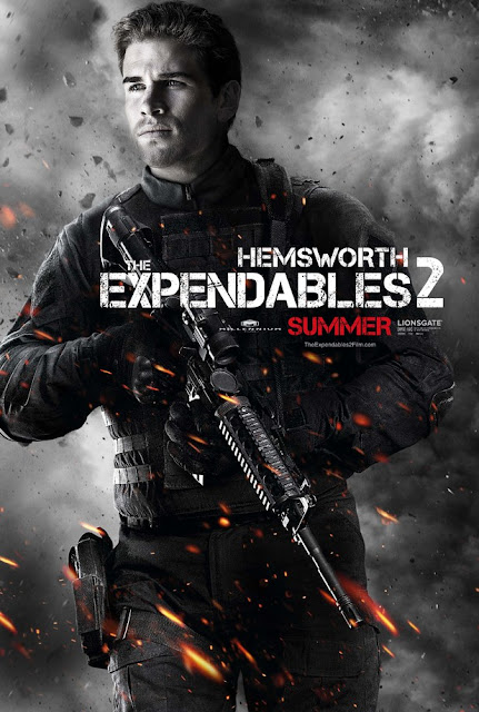 the expendables 2 hemsworth
