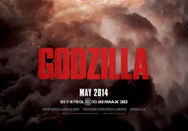 Godzilla: First Trailer & New Poster
