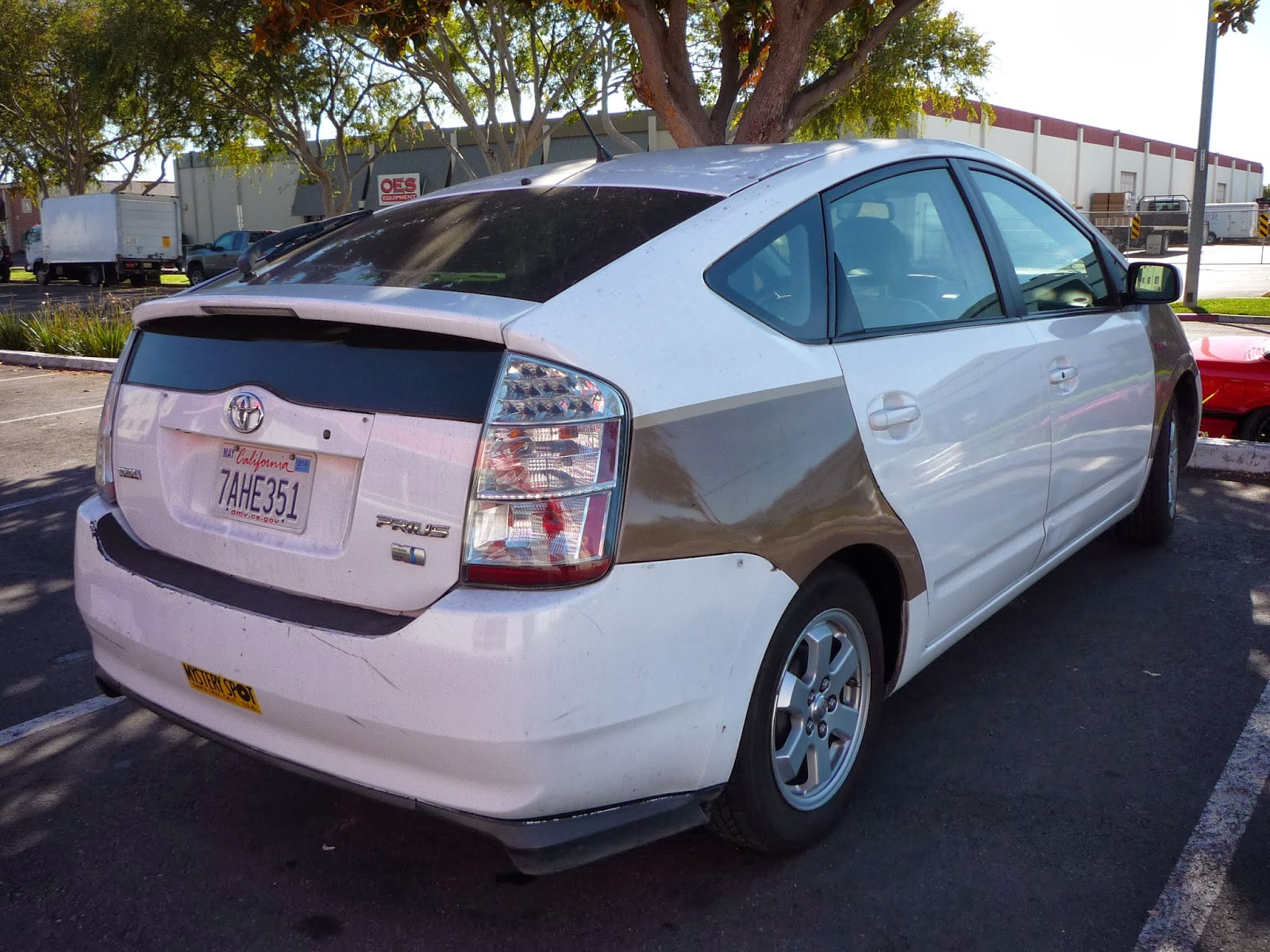 Prius Car Body Repair Fremont