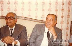 حامد ابو النصر وعلي صبري رئيس الوزراء في عهد عبد الناصر