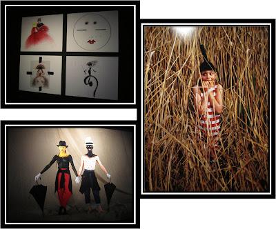Expo jean Paul Goude Goudemalion Arts Déco Paris photo nageurs Kodak