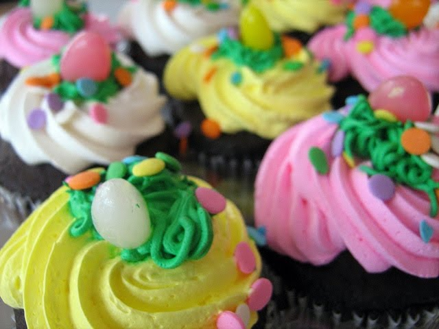 Easter Cupcake Decorating Ideas myideasbedroom.com