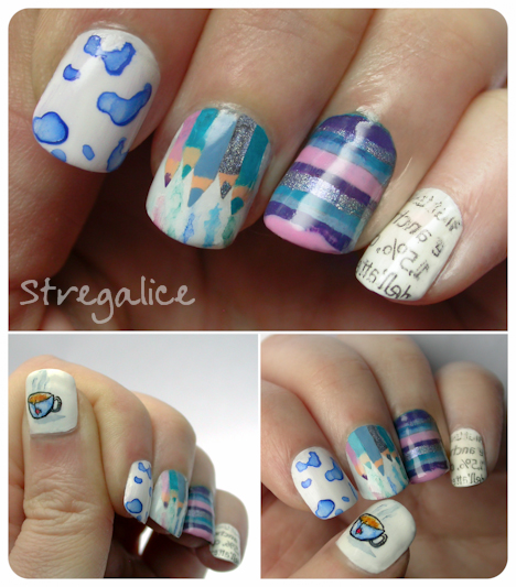 Something about me nailart