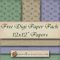 Free Charity Digital Scrapbook Elements Pack 45 GE