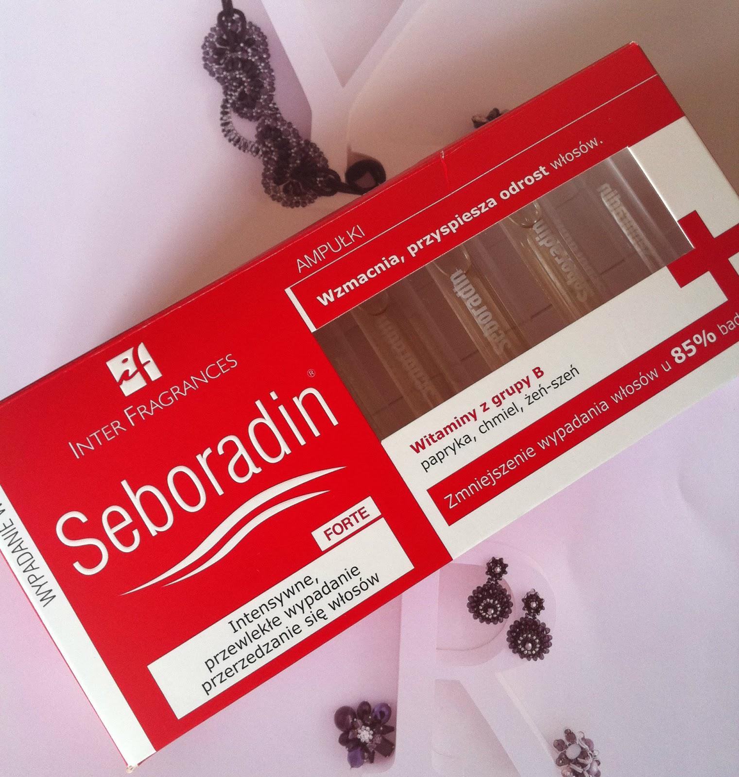 Seboradin Forte Ampułki przeciw wypadaniu włosów
