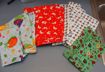 Cloth Napkins For Kindergarten!