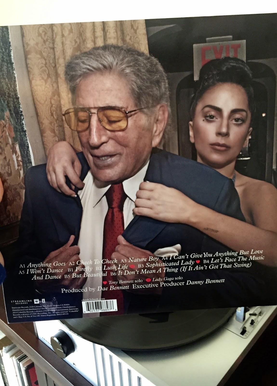 "Love Came Along: Vinyl: ""Cheek to Cheek"" with Tony Bennett ..."