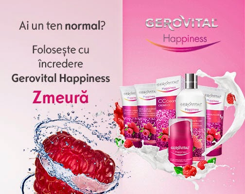 Gerovital Happiness de Zmeura - Ten normal