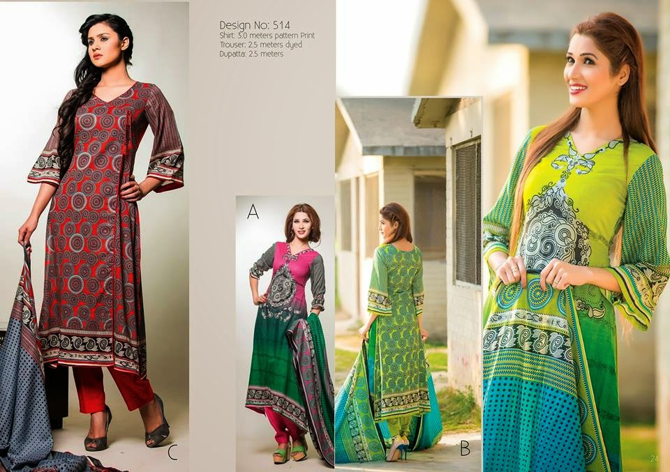 Summer lawn womens fashions