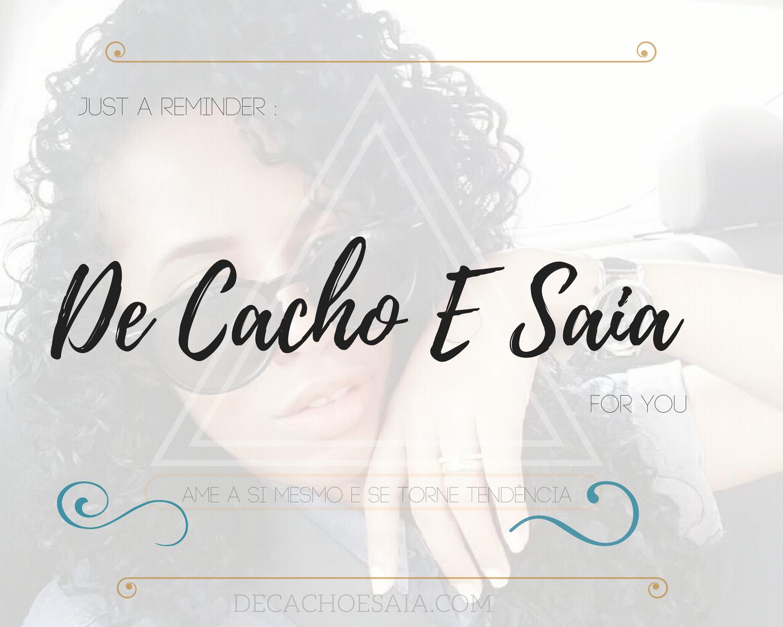 De Cacho e Saia